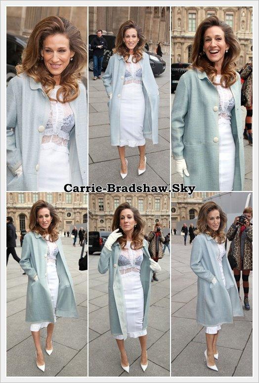 Sarah Jessica Parker à Paris