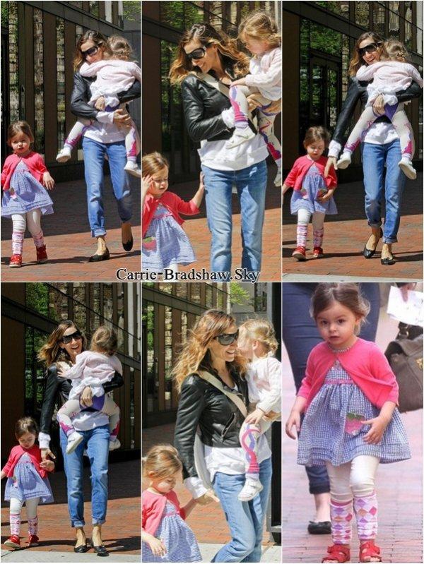 Sarah Jessica Parker et ses Jumelles