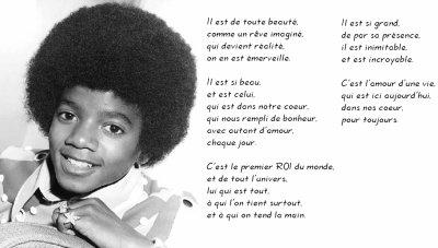 Poème Blog De Michael Jackson 52130
