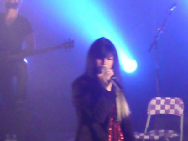 Jena au concert de chauny