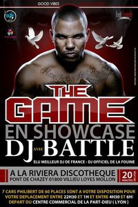 ★☆★ THE GAME ET DJ BATTLE A LA RIVIERA DISCOTHEQUE A LYON ★☆★