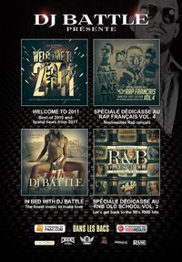 LANCEMENT OFFICIEL DES 4 NOUVELLES MIXTAPES DE DJ BATTLE !