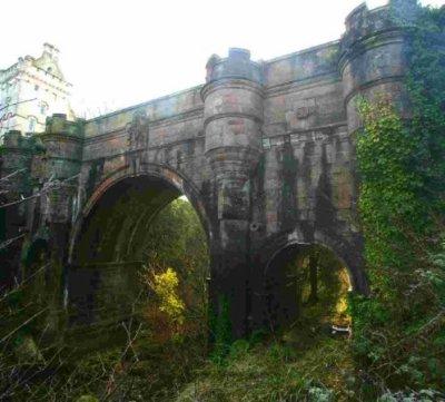 Le pont d'Overtoun où les chiens se suicident