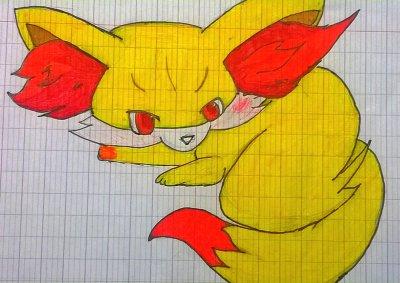 [Quelques dessins..] Ma période pokémon x) :