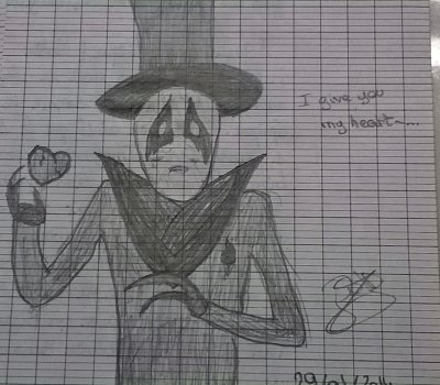 [Quelques dessins..] Suite et fin ! Dessins au crayon à papier (plus dark :'o)
