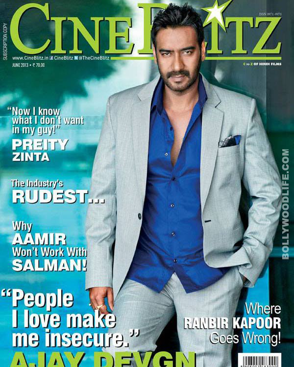Ajay Devgn covers Cineblitz