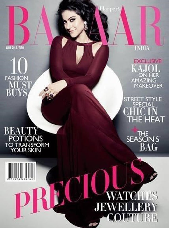 Kajol covers Haper's Bazaar + photoshoot