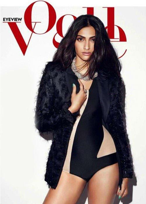 Sonam covers Vogue + Photoshoot