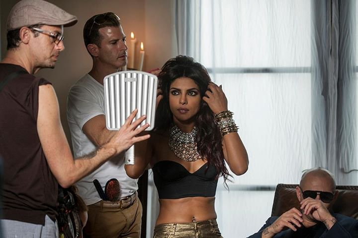 Priyanka films Exotic with PitBull