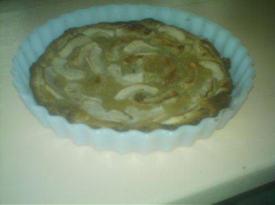 ...petite tarte aux pommes
