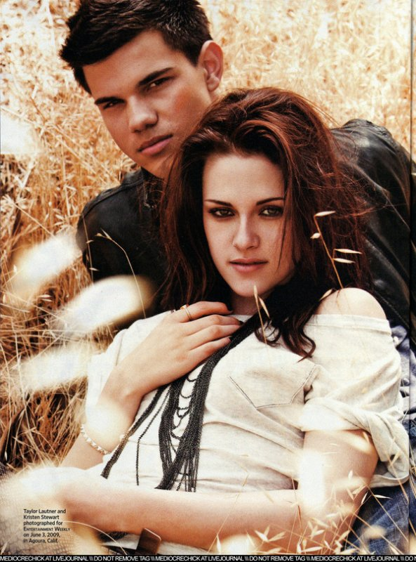 Taylor Lautner et Kristen Stewart