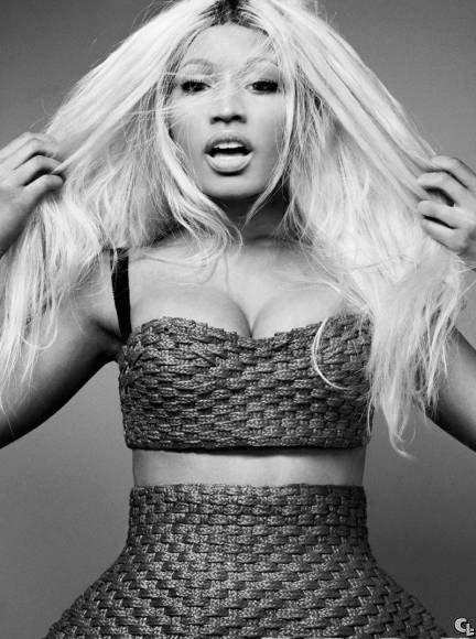 pensez vous avoir vu Nicki Minaj dans tout les  style  mais la rappeuse a plusieurs look dans son sac nicki minaj sans make up pour la couverture de ELLE magazine