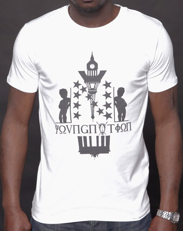 T-shirt YOUNG NATION « Aroun Europe »