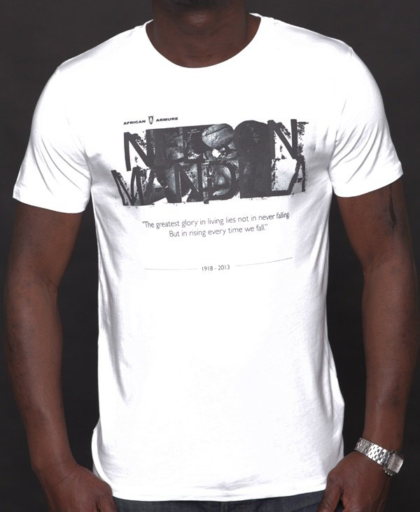 T-shirt AFRICAN ARMURE « Nelson Mandela »