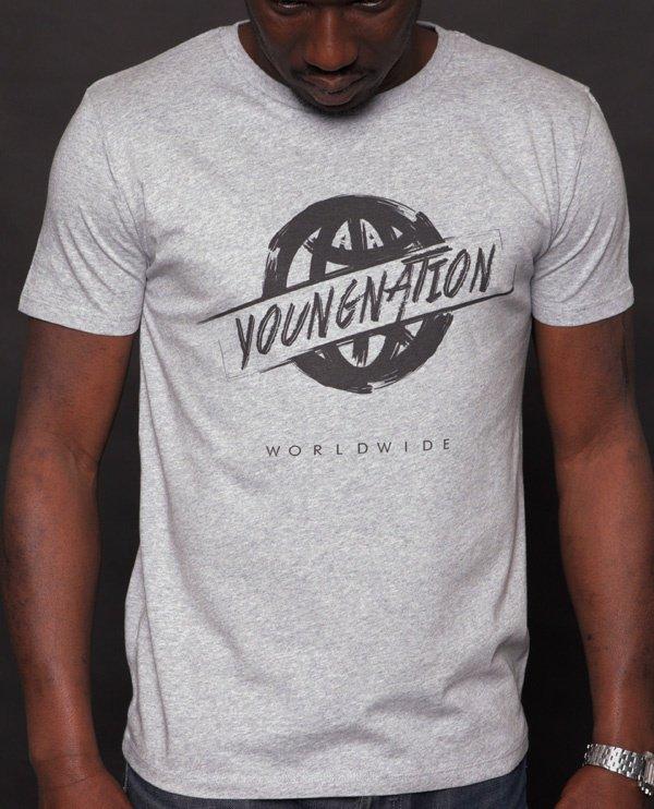 T-shirt YOUNG NATION « Aroun Worldwide »