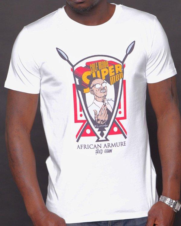 T-shirt YOUNG NATION « Fred E P.Lumumba »