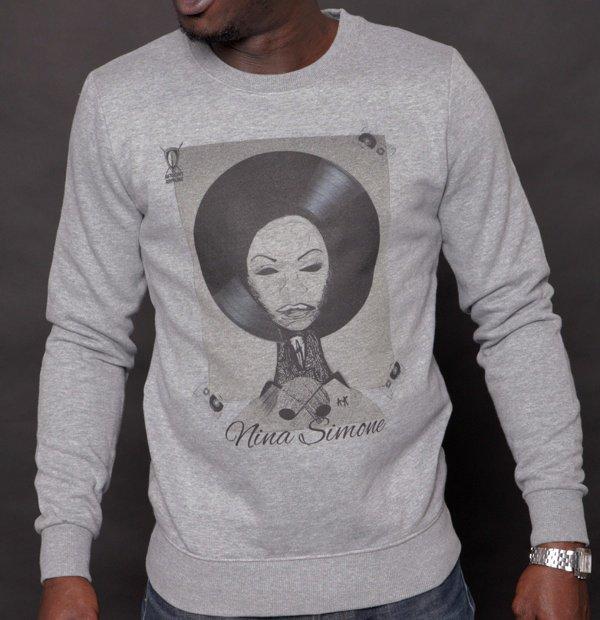Sweatshirt AFRICAN ARMURE « Nina Simone »