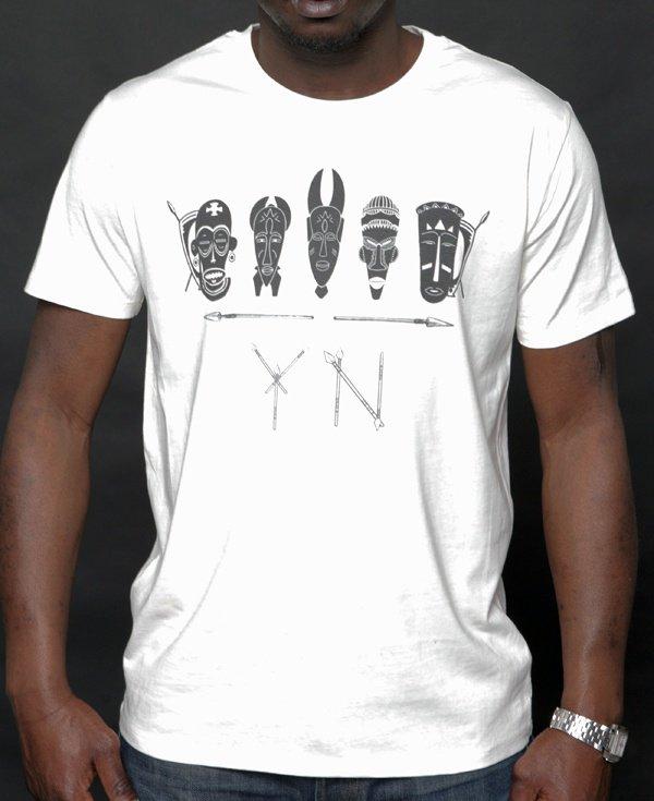 T-shirt YOUNG NATION « Aroun Africa »