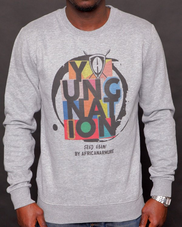 Sweatshirt YOUNG NATION « Fred E Colors »