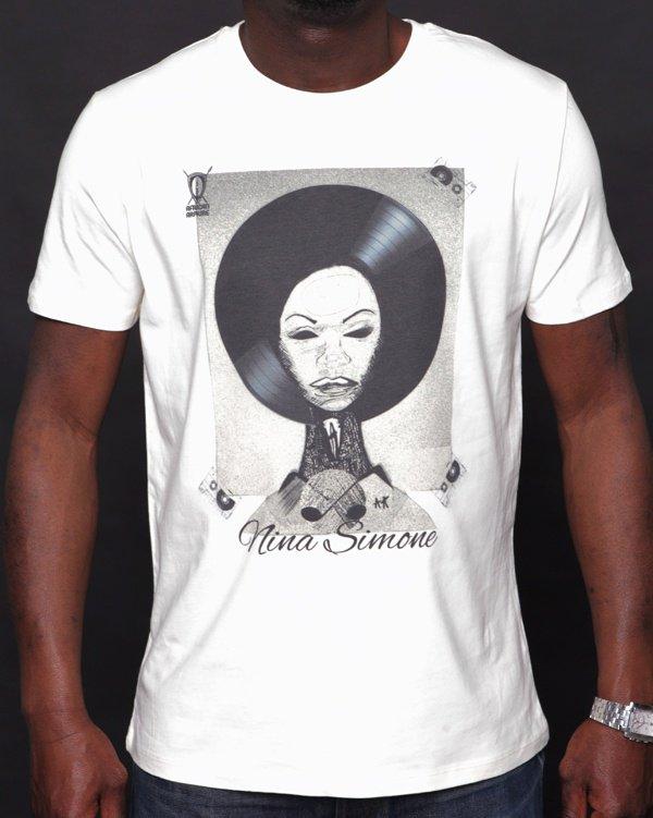 T-shirt AFRICAN ARMURE « Nina Simone »