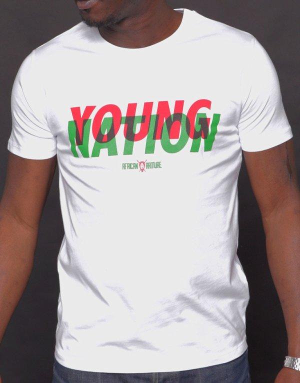 T-shirt Young Nation « classique »