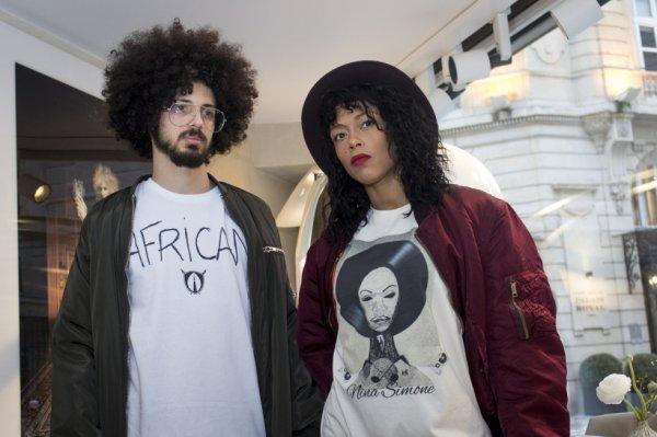 T-shirts « African » et « Nina Simone »