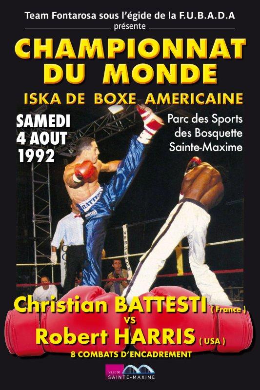 DEUXIEME  CHAMPIONNAT  DU  MONDE  1992