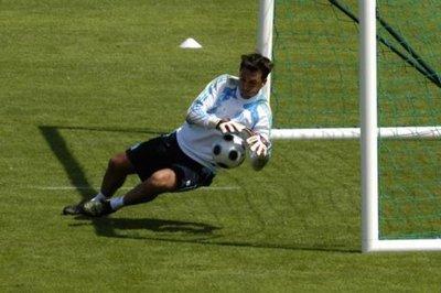 Rudy Riou, nouveau gardien du FC NANTES
