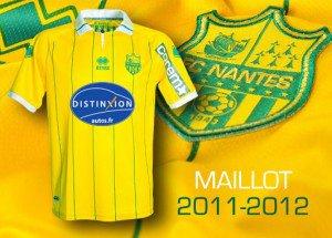 Maillot Domicile saison 2011/2012
