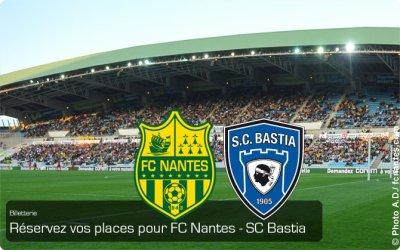 Billetterie : Réservez vos Place à La Beaujoire pour Nantes-Bastia !