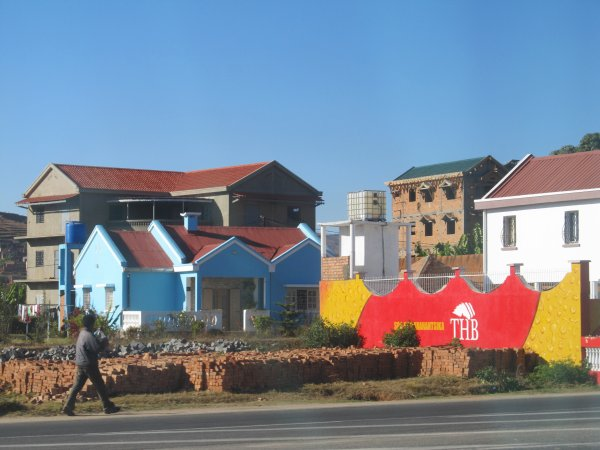 Départ pour Antsirabe