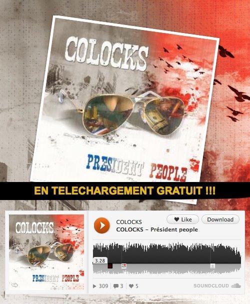 """COLOCKS-""""Président People"""" en téléchargement gratuit !!!"""
