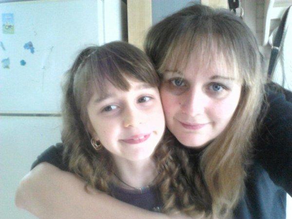 Ma fille et moi à noël