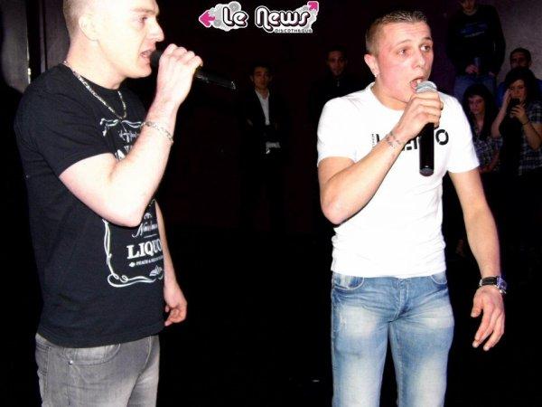 """SHOW CASE du 04/03/2012 discothèque """"LE NEWS""""   YULIANN MON POTE"""