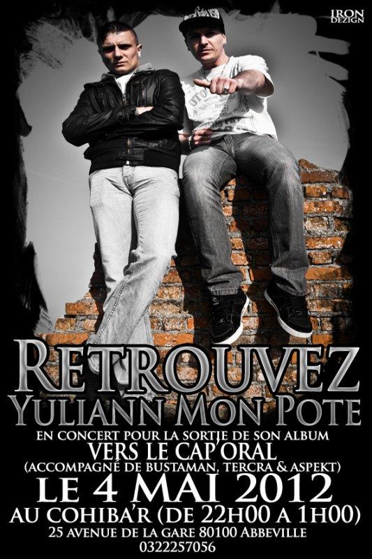 YULIANN MON POTE & BUSTAMAN en Live le 4 Mai au COHIBA'R