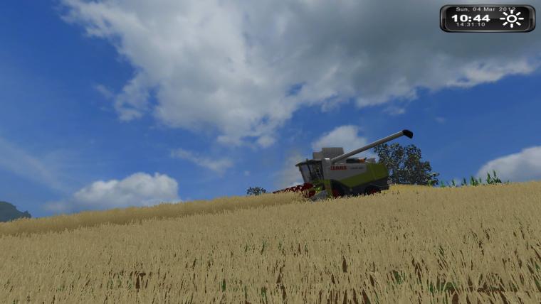 Moisson de blé :)
