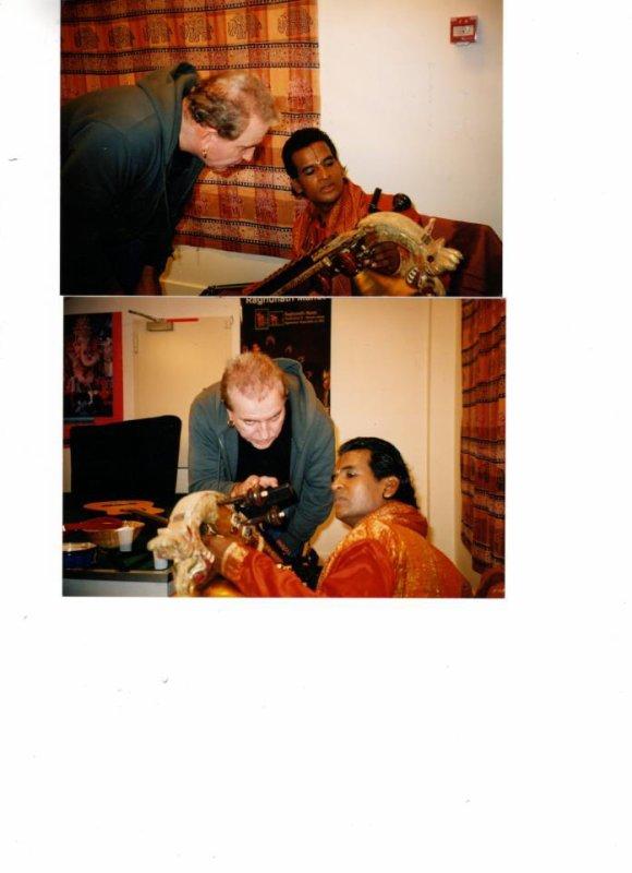 Raghunath Manet et BernarD Lavilliers