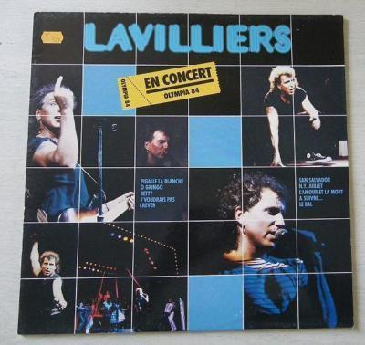 affiche pour le concert à l'olympia en 1984 ...que du bonheur