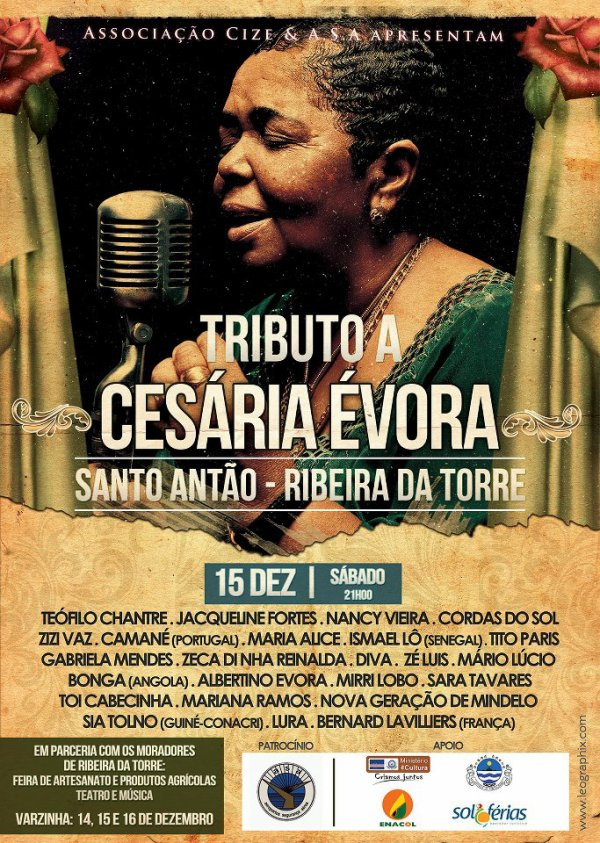 Hommage à Césaria Evora