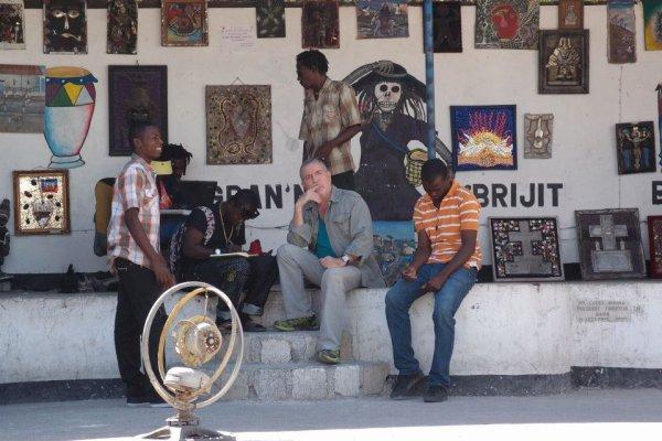 Premières images d'un documentaire sur Haïti - photos parues sur le site officiel de Bernard Lavilliers