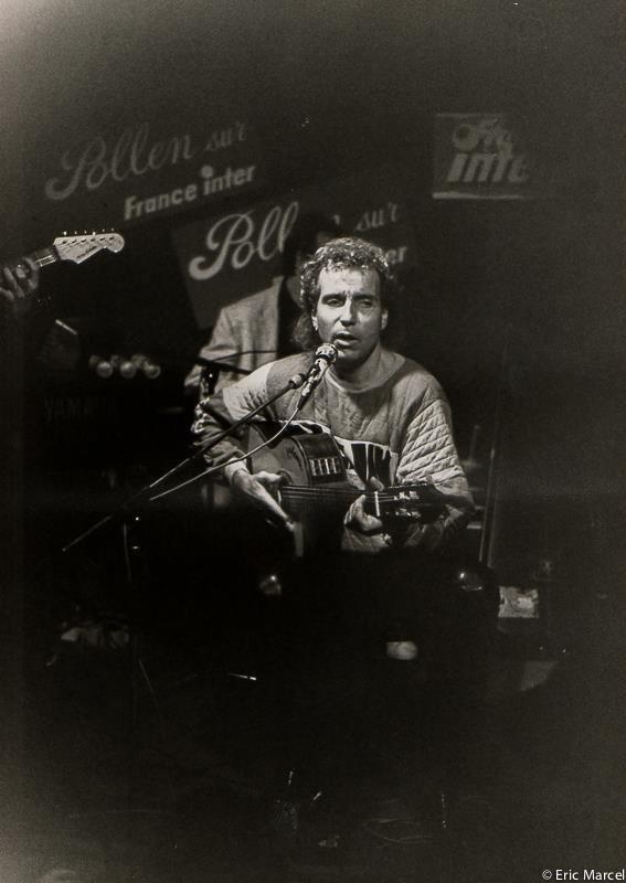 Dans un Bar en 1985, enregistrement de Pollen de Jean Louis Foulquier – à square de l opéra louis jouvet