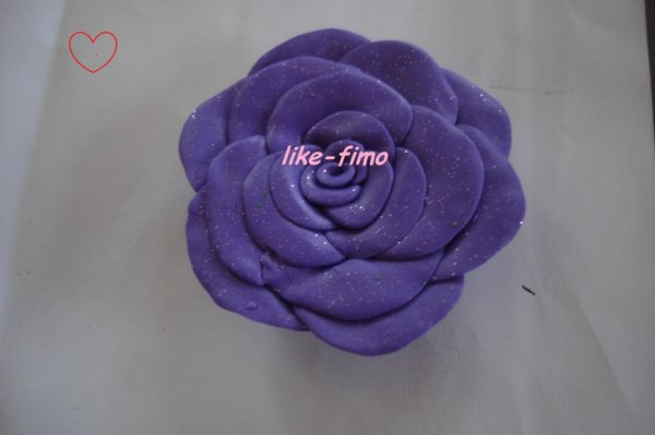 Fimo rose