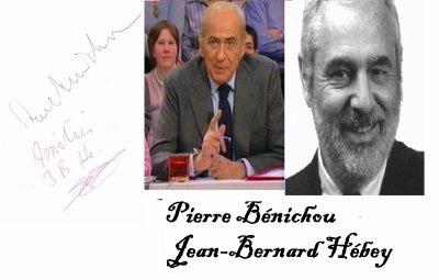 Pierre Bénichou et Jean-Bernard Hébey