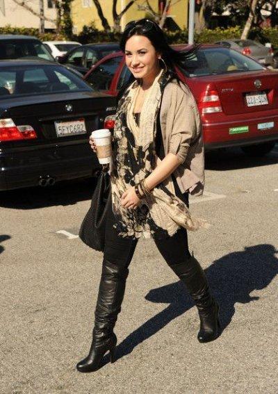 Demi va beaucoup mieux :)