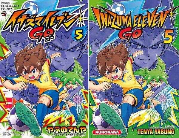 Le t5 du #manga #InazumaEleven Go sort le mois prochain en librairie chez @KuroTweet !