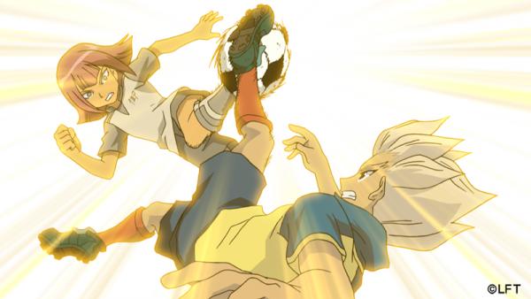 Dribble d'enfer entre Axel et…