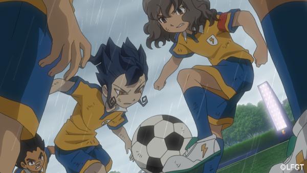 Jouez au foot sous la pluie, il faut en avoir envie !