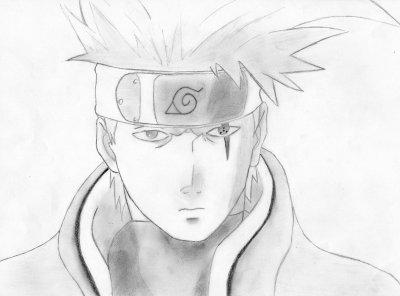 Kakashi hatake blog de un manga un dessin - Dessin kakashi ...