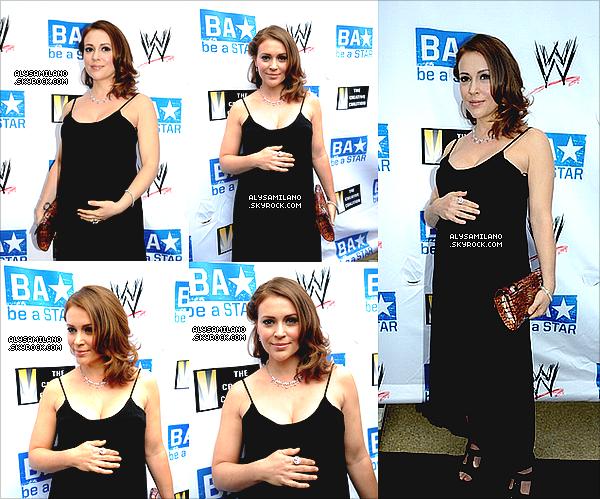 .  29.04.11 - Alyssa était présente à un nouveau gala organisé par la Creative Coalition, A-List Celebs et WWE à Washington.  .