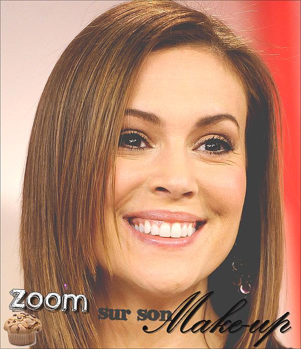 .  06.12.10 - La Magnifique Alyssa était présente à l'émission The Today Show le 6 Décembre à New York.  .